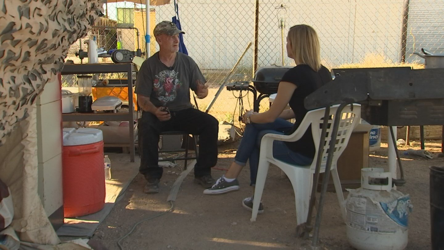 Army veteran Danny Millegan is just one of the success stories. (Source: 3TV/CBS 5)