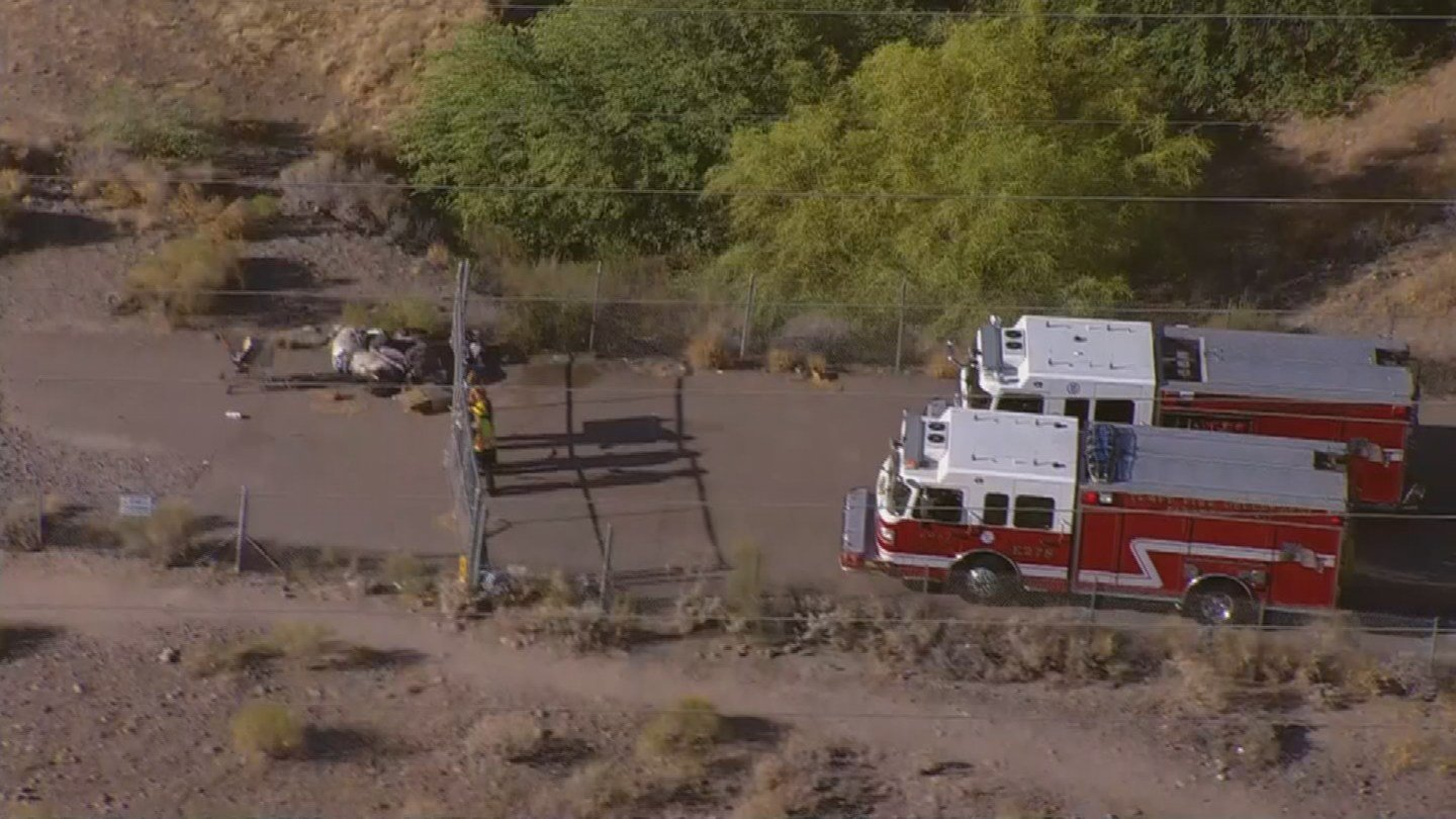 A body was found in the Salt River Wednesday morning. (Source: 3TV/CBS 5)