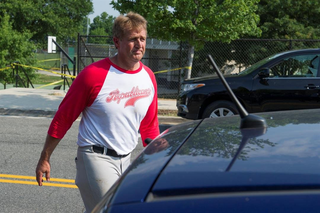 Arizona Senator Jeff Flake was in attendance at the baseball game in Virginia where a shooting broke out (AP Photo/Cliff Owen)