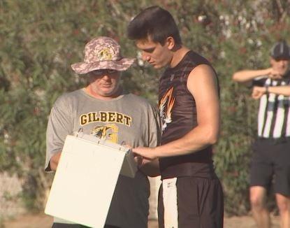 Gilbert High quarterback Jack Plummer heads into his senior season. (Source: 3TV/CBS 5)