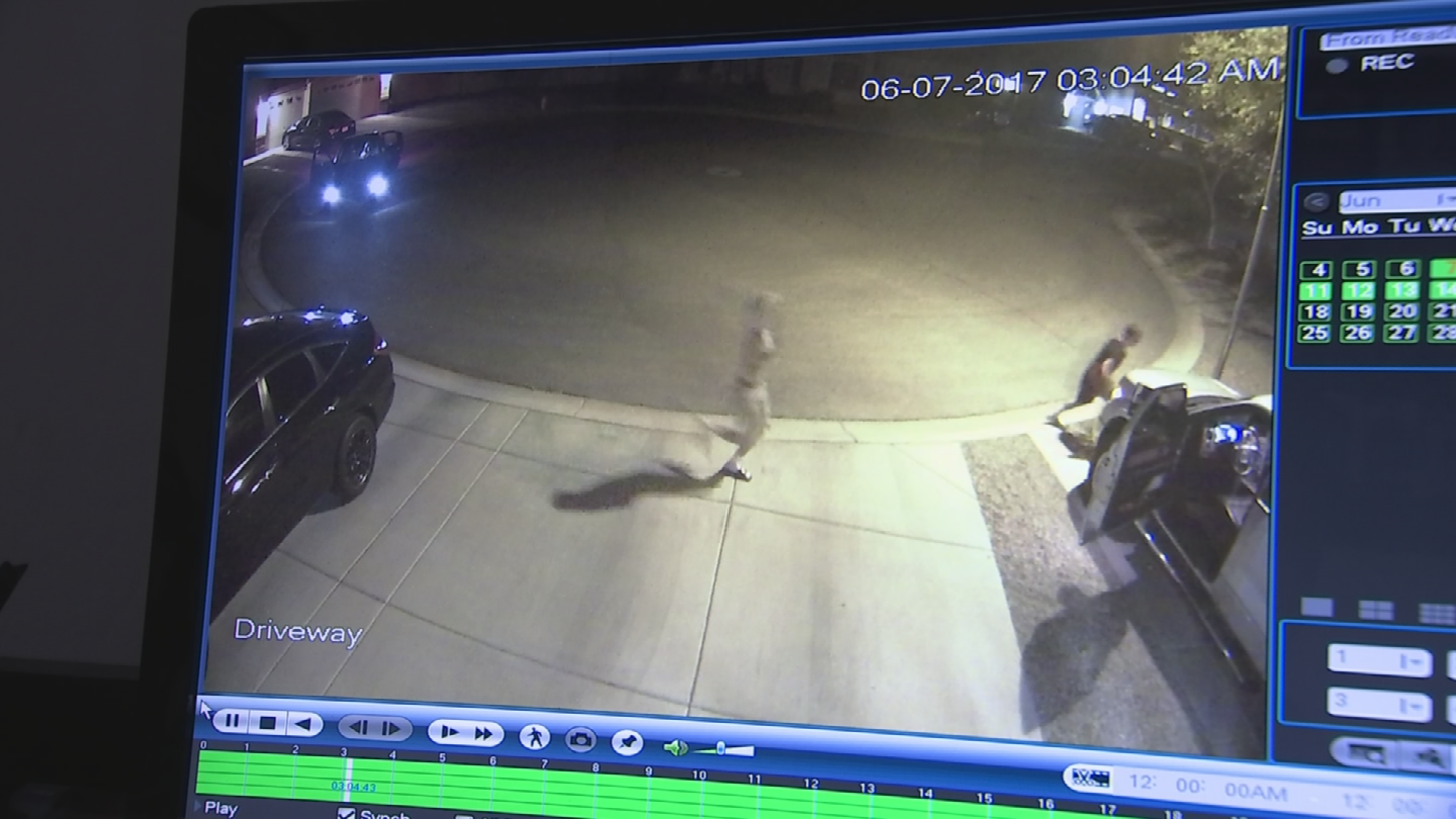 Three young people were spotted breaking into vehicles in Laveen. (Source: 3TV/CBS 5)
