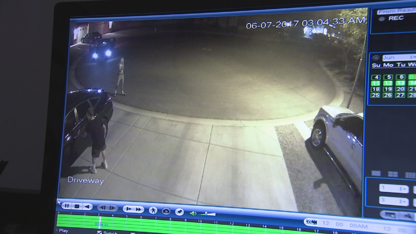The suspects reportedly burglarized eight vehicles. (Source: 3TV/CBS 5)