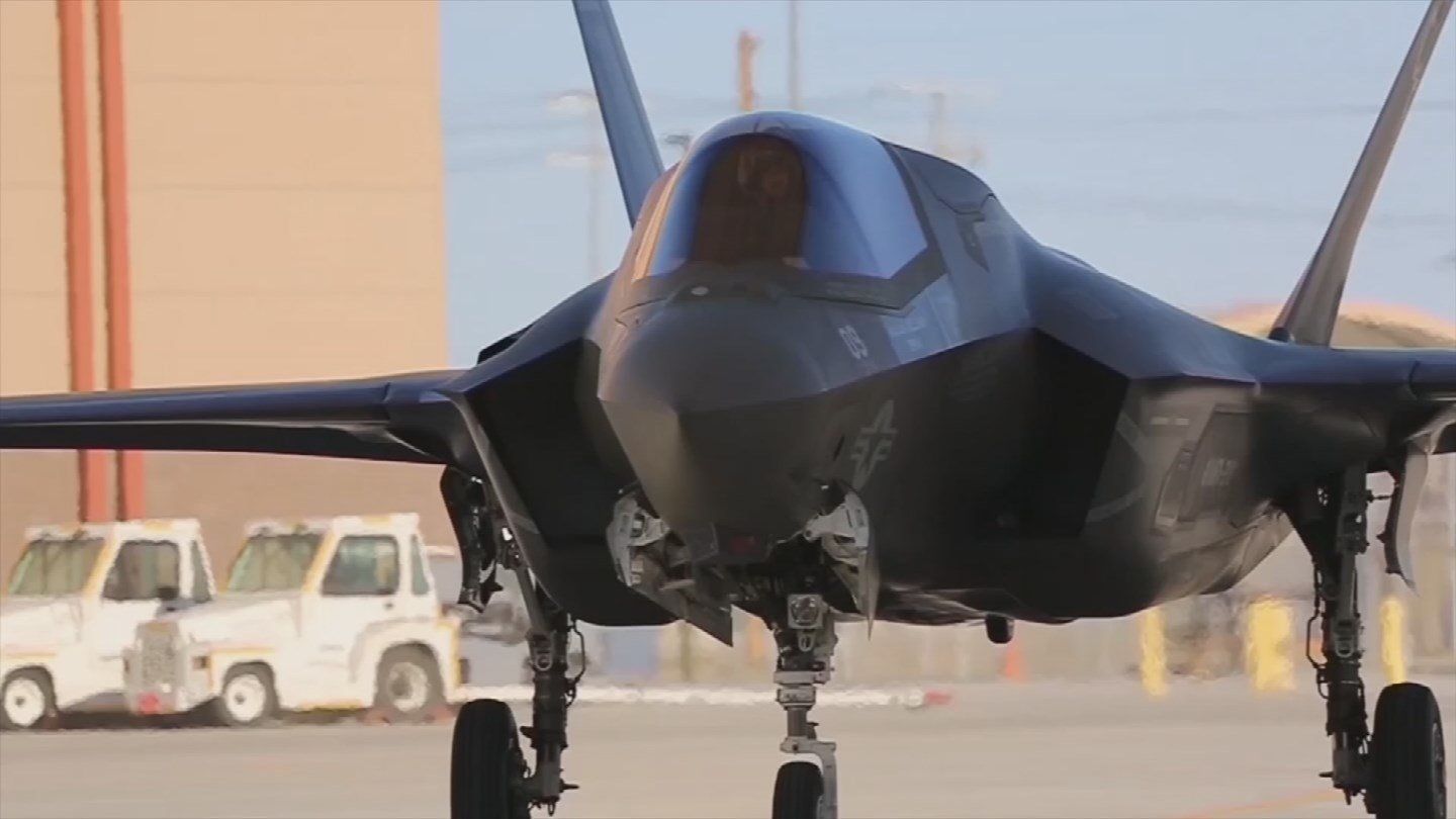 The F-35s stationed at Luke Air Force base remain grounded after some pilots reported experiencing Hypoxia symptoms while flying. (Source: 3TV/CBS 5)