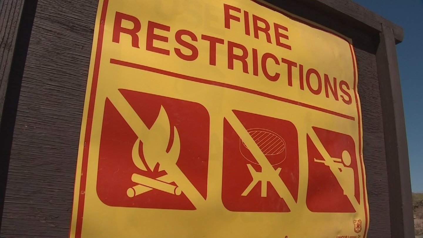 Fire restrictions take effect in three Arizona forests. (Source: 3TV/CBS 5)