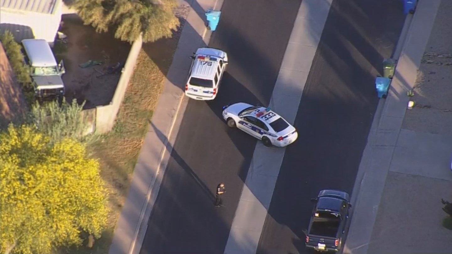 The suspect is in custody. (Source: 3TV/CBS 5)