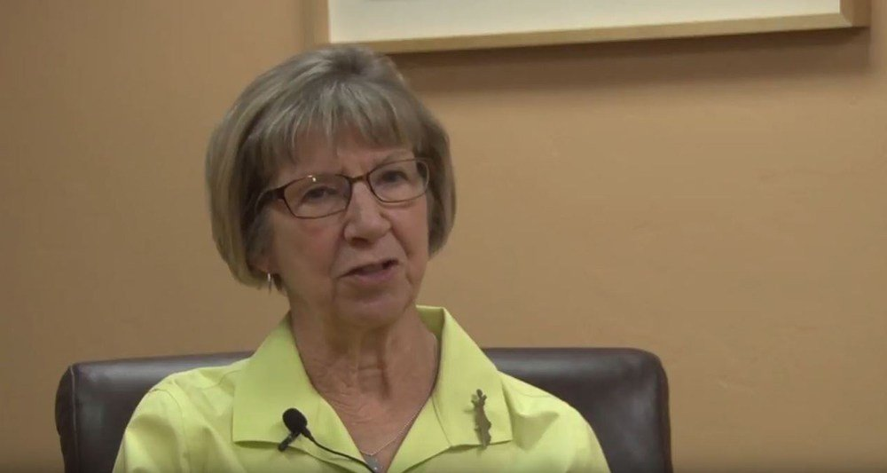 Pam Simon, one of the survivors of the 2011 attack in Tucson that left six dead and 13 injured, including then-Rep. Gabrielle Giffords, said news of Wednesday's shooting brought memories rushing back. (Source: Tyler Fingert, Cronkite News)