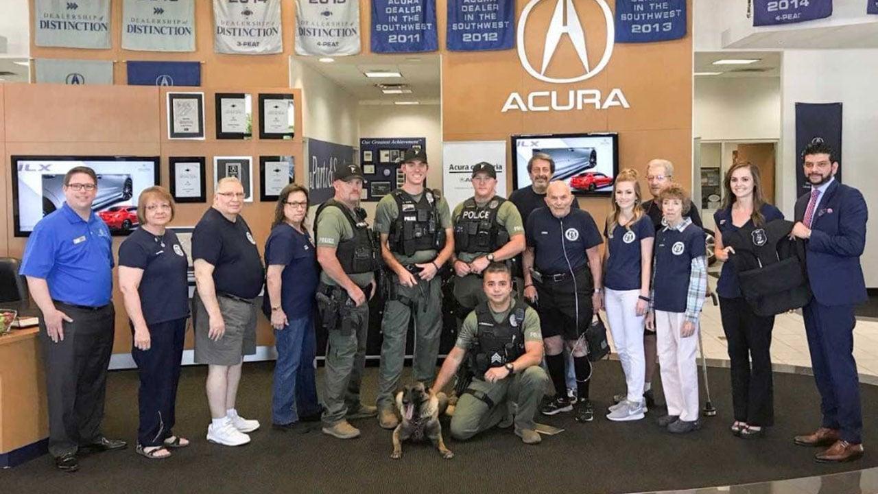 Acura Of Peoria >> Peoria police K9 receives donation of bulletproof vest - Arizona's Family