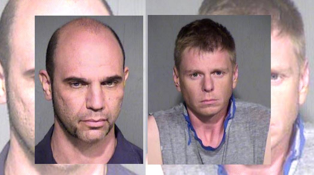 Cesar Ferrari and Thomas Rowan (Source: Maricopa County Sheriff's Office)