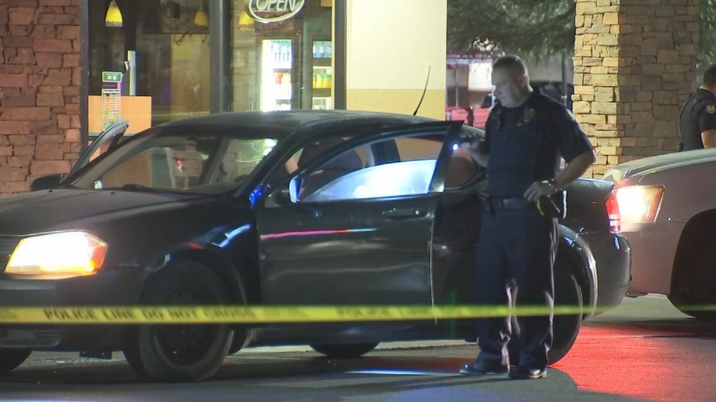 A car full of teens was shot at in Phoenix Monday morning. (Source: 3TV/CBS 5)