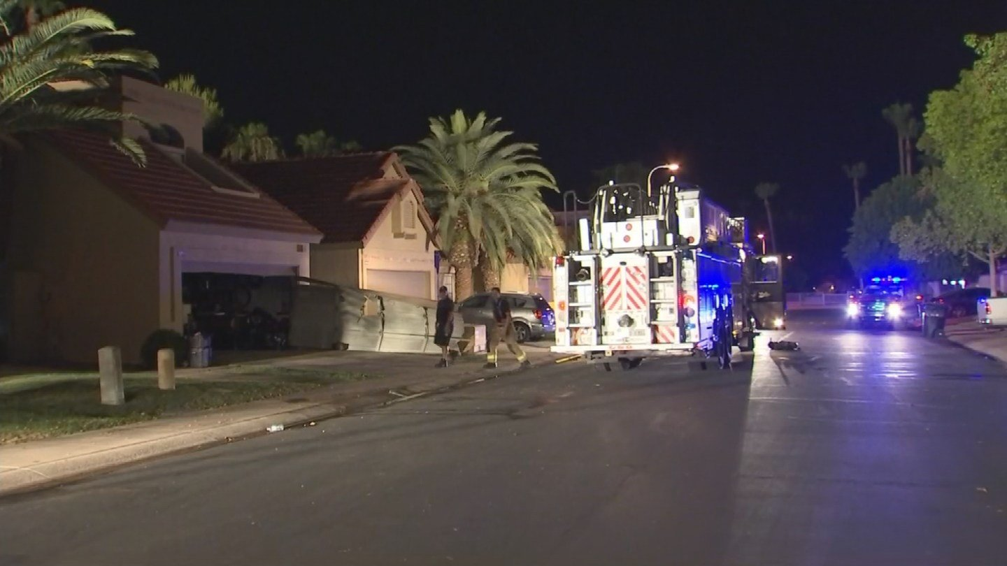 All occupants of the home escaped safely. (Source: 3TV/CBS 5)