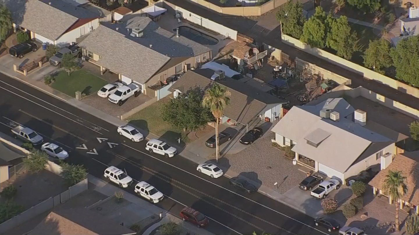 What the search warrant was for was not immediately available. (Source: 3TV/CBS 5)