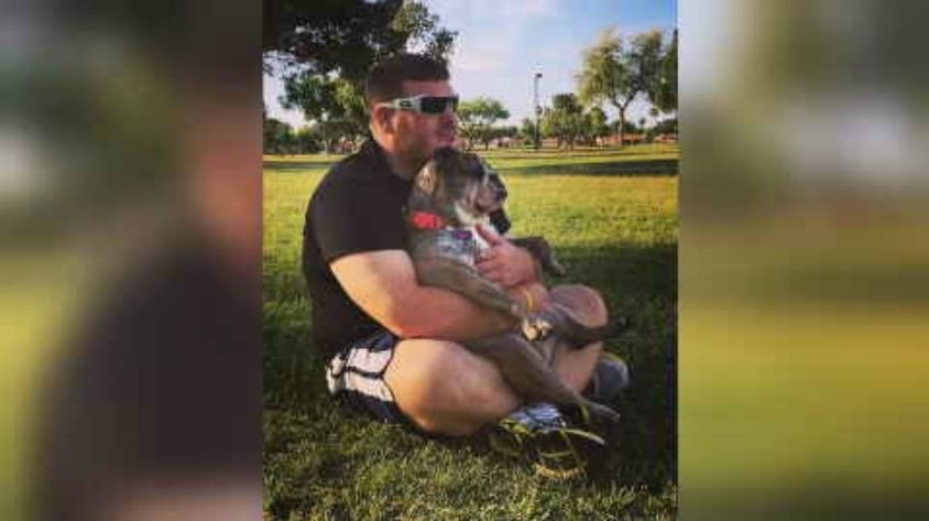"Matthew Spott says he took his bulldog named Matilda to ""Always Unleashed Pet Resort"" in Scottsdale, where it drowned. (Source: 3TV/CBS 5)"
