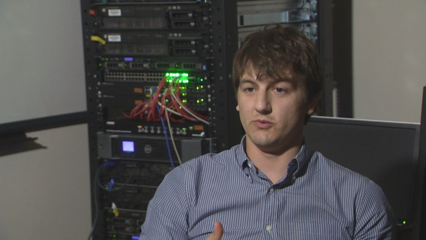The problem with current caller ID is that it's easy to spoof, said Adam Doupé of ASU's Security Engineering for Future Computing (SEFCOM). (Source: 3TV/CBS 5)