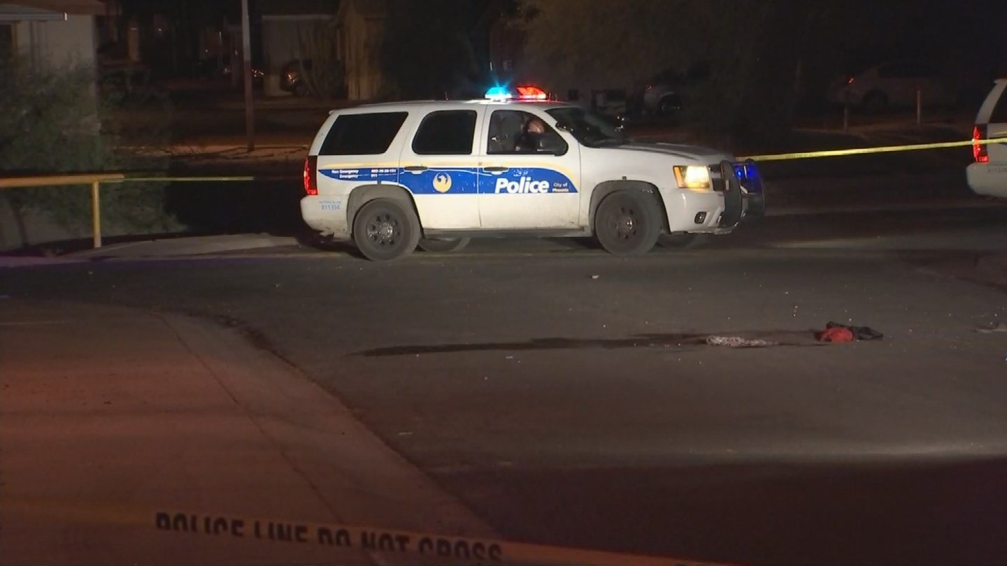 A 20-year-old male shot himself in the head in Phoenix. (Source: 3TV/CBS 5)