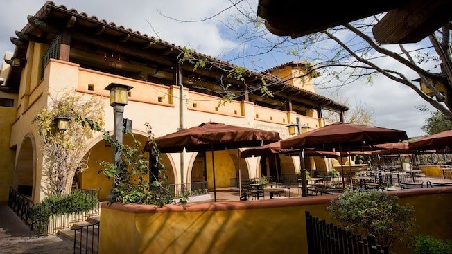 Mendocino Terrace at the Wine Country Trattoria (Source: Disneyland)