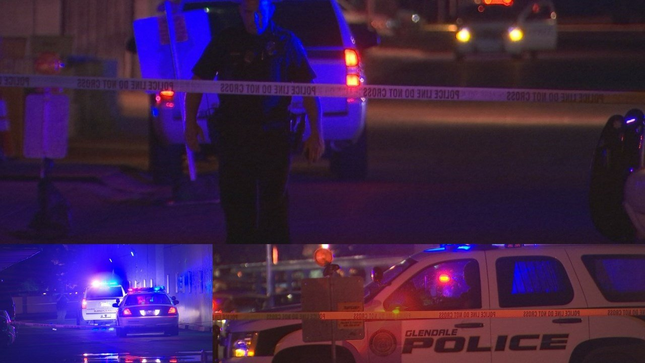 A man was shot in overnight in Glendale. (Source: 3TV/CBS 5)
