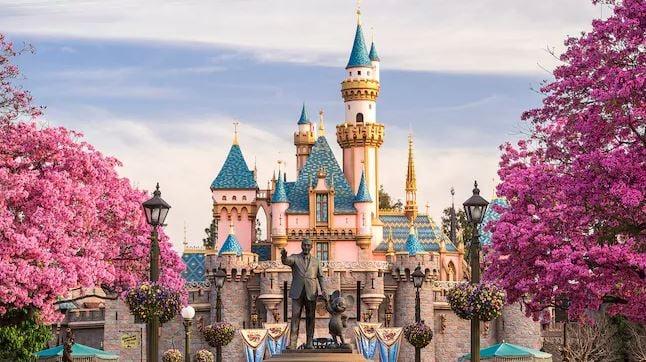 Sleeping Beauty's Castle at Disneyland (Source: Disneyland)
