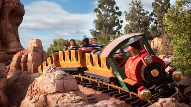 Big Thunder Mountain Railroad (Source: Disneyland)