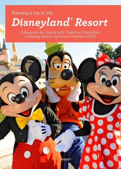 Guide for Guests with Cognitive Disabilities (Source: Disneyland)