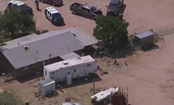 No officers were hurt in the incident and the suspectwas taken to the hospital to be treated for the gunshot wound. (Source: 3TV/CBS 5)