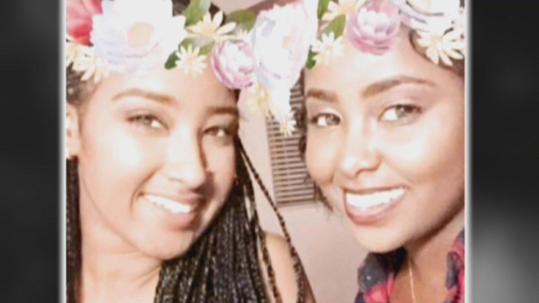 Twin sisters Bana and Yohana Giorgis. (Source: Family photo)