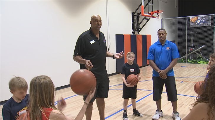 Open to boys and girls for half and full-day sessions, the academy's centers its curriculum around refining and improving basketball skills. (Source: 3TV/CBS 5)