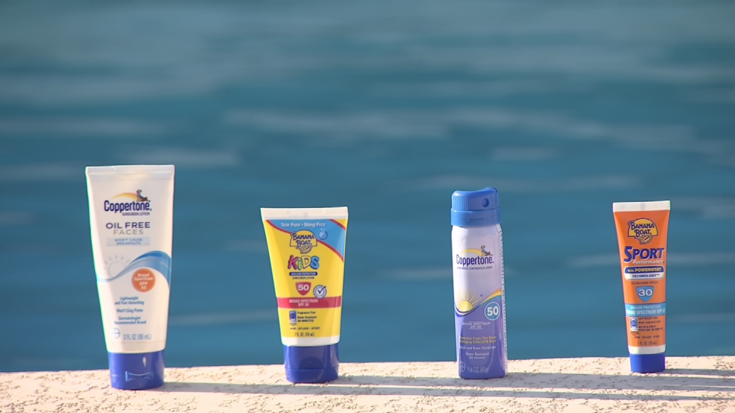 Dr. Mansi Sarihan recommends sunscreen of at least SPF 50 with broad-spectrum protection  and water resistance. (Source: 3TV/CBS 5)