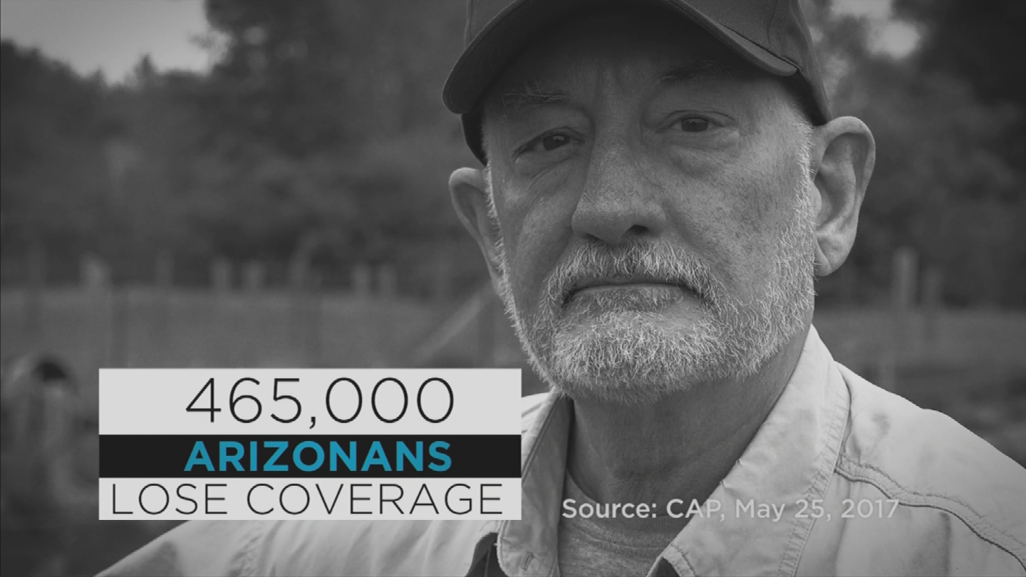 The group known as Save My Care will start running advertisements on Wednesday in Arizona targeting Sen. Jeff Flake over the GOP health care bill. (Source: 3TV/CBS 5)