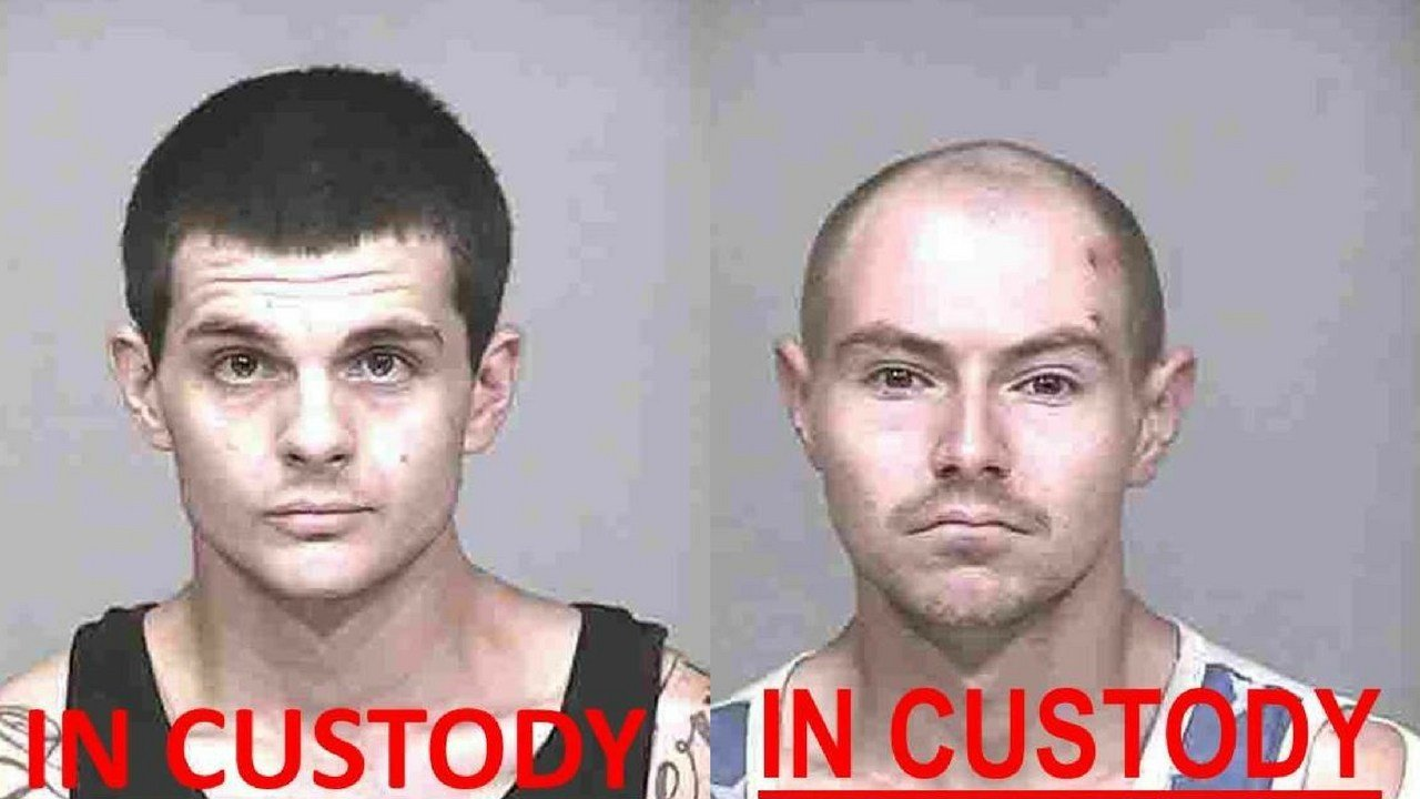 Tylor Ritchie, 24, and Alexander Zaitsev, 24. (Source: Scottsdale PD)