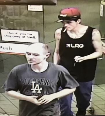 Ritchie and Zaitsev together on surveillance cameras. (Source: Scottsdale PD)