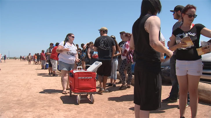 Thousands attended the Warped Tour in the west Valley. (Source: 3TV/CBS 5)