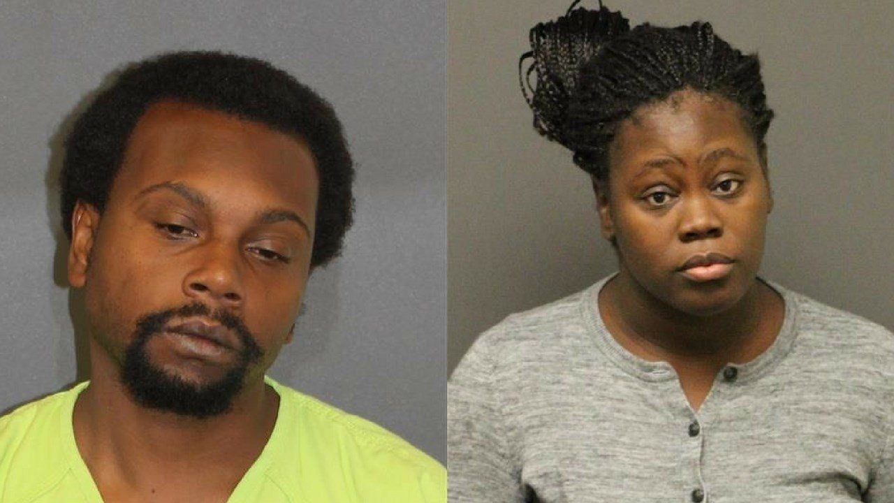 Octavia Jackson and Nicholios Nealy were charged as authorities seek missing 4-month-old. (Source: Mohave County Attorney's Office)