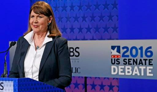 Former U.S. Rep. Ann Kirkpatrick (AP Photo/Ross D. Franklin)