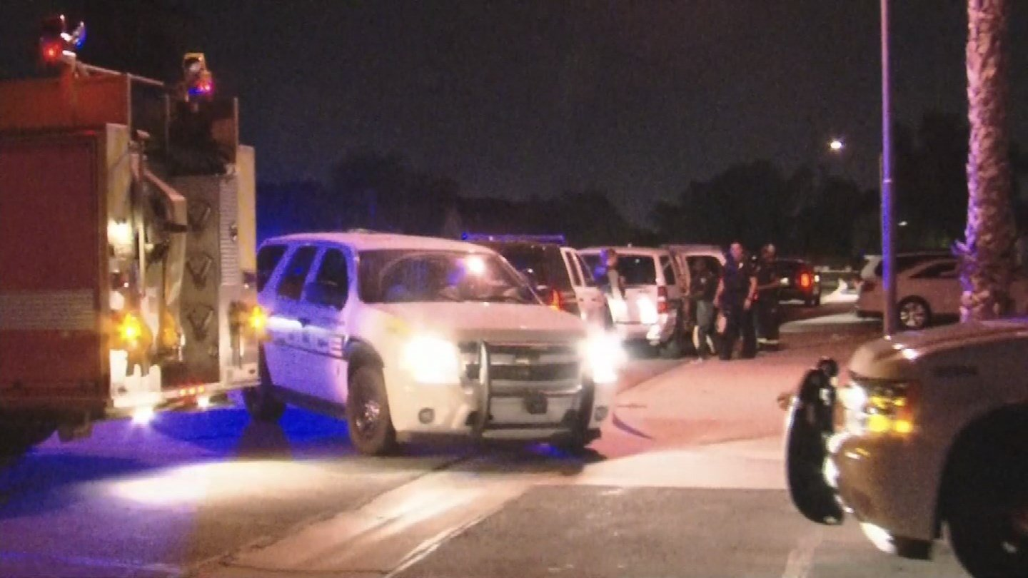 A Goodyear home was shot at several times overnight. (Source: 3TV/CBS 5)