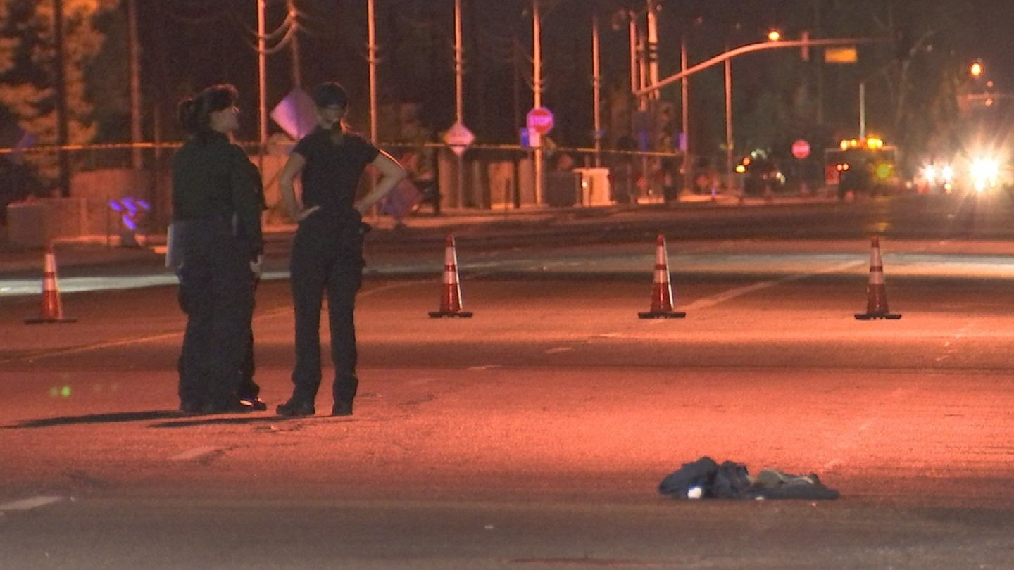 Glendale police are investigating a fatal hit-and-run involving a pedestrian. (Source: 3TV/CBS 5)
