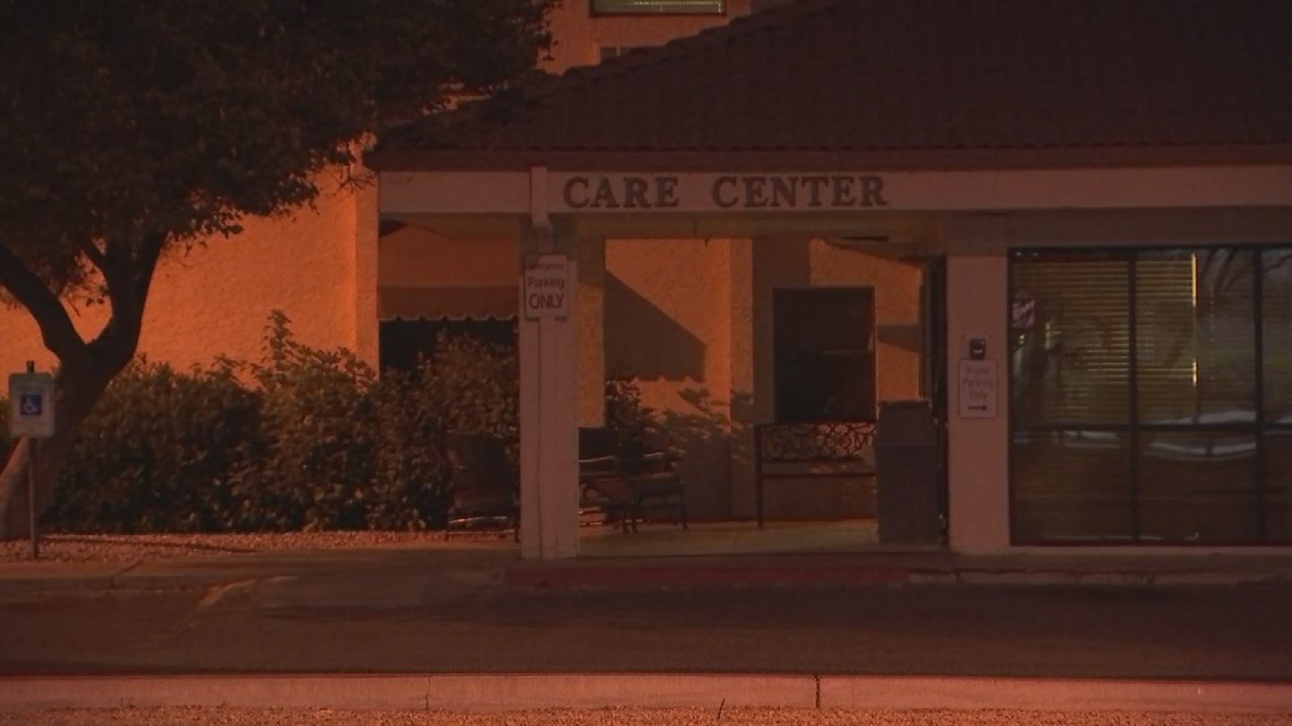 An elderly woman died Thursday afternoon after she left a care facility in Peoria, police said. (Source: 3TV/CBS 5)