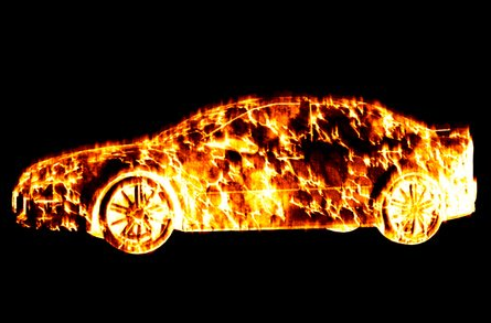 Is my car on fire? No, just summer in Arizona