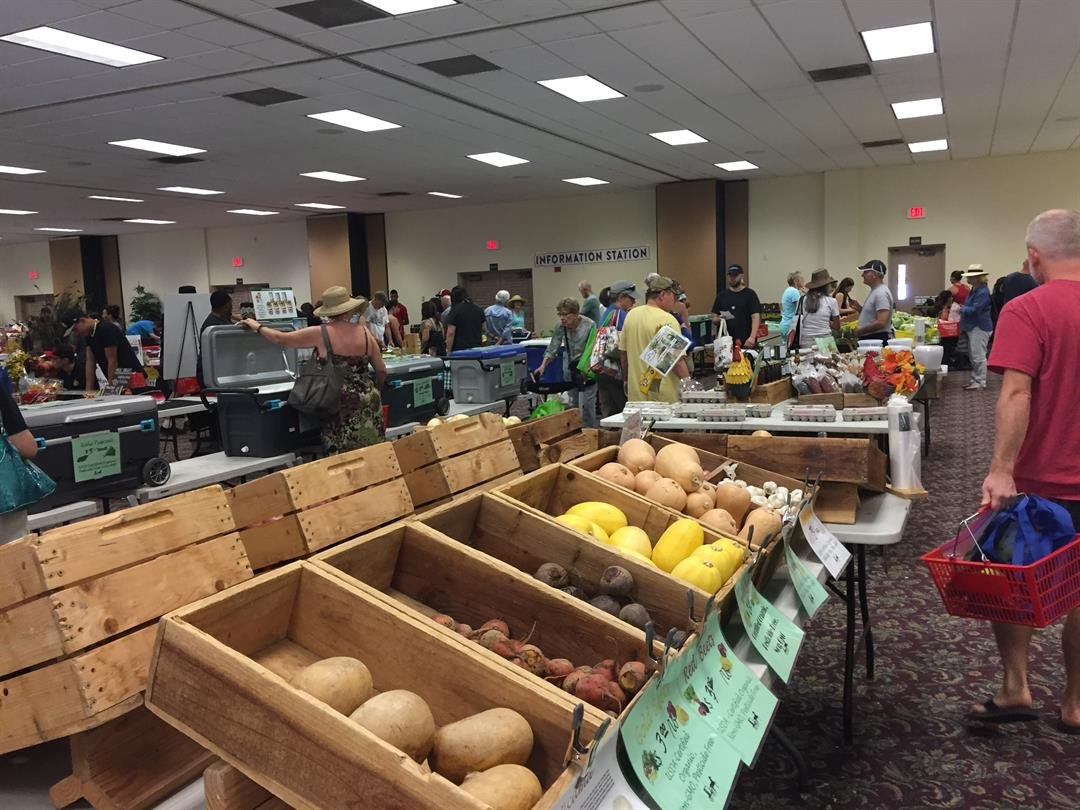 According to manager Bo Mostow, the food-based farmers market is dedicated to inspiring and educating home cooks using local Arizona goods. (Source: 3TV/CBS 5)