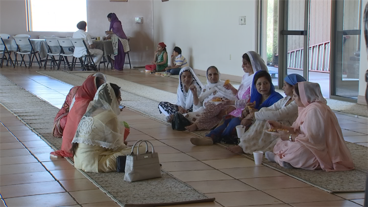 At the end of every Sikh service, they serve a community meal called langar.(Source: 3TV/CBS 5)