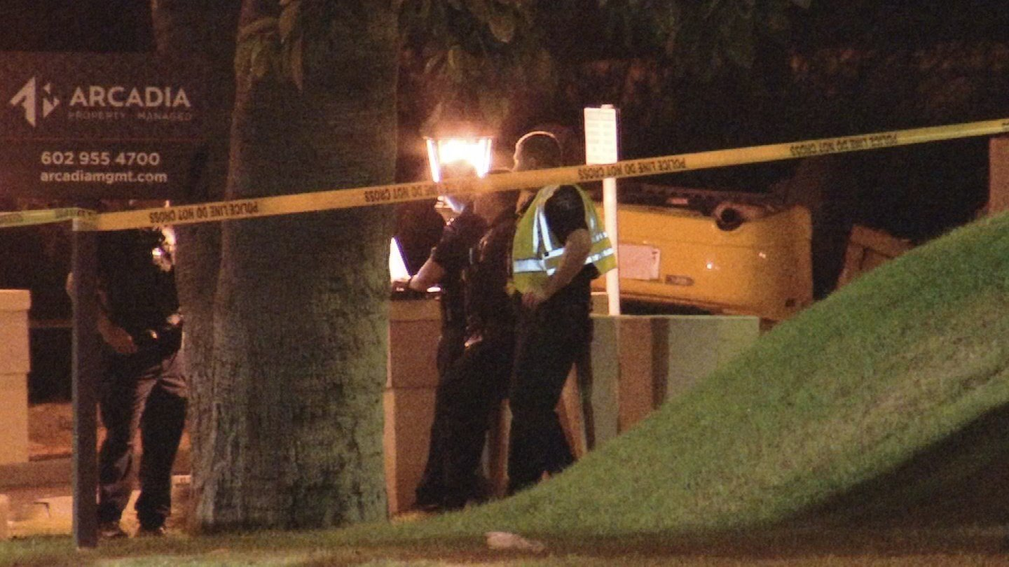 One person died from a rollover accident in Tempe Sunday night. (Source: 3TV/CBS 5)