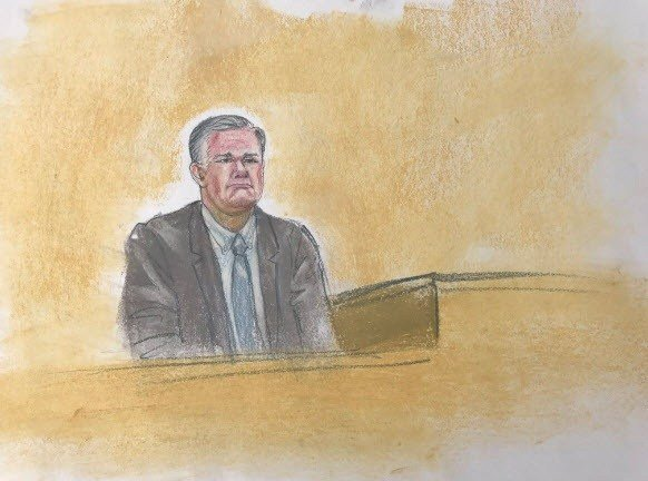 Arpaio's former attorney Tim Casey took the stand on Monday. (Source: Maggie Keane)