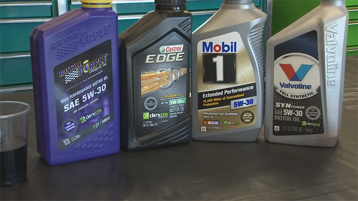 AAA of Arizona is advising consumers to start thinking about using synthetic oil. (Source: 3TV/CBS 5)