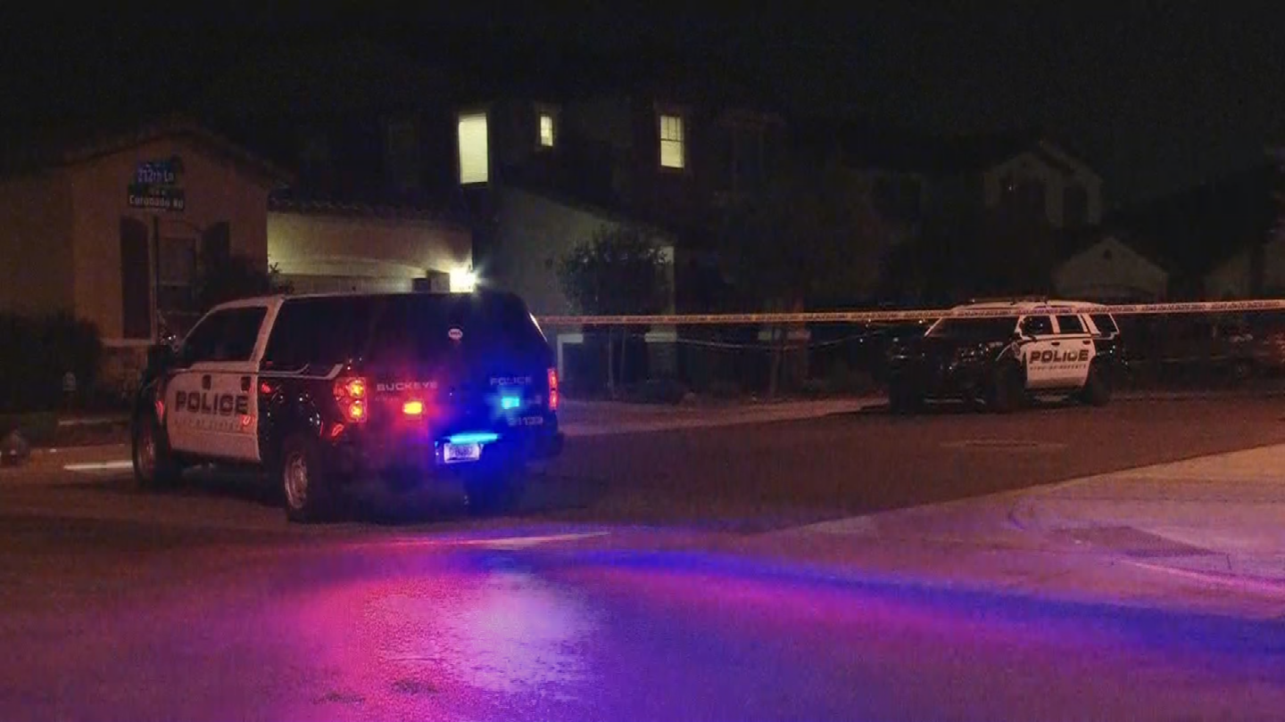 A woman was stabbing during a domestic fight in Buckeye. (Source: 3TV/CBS 5)