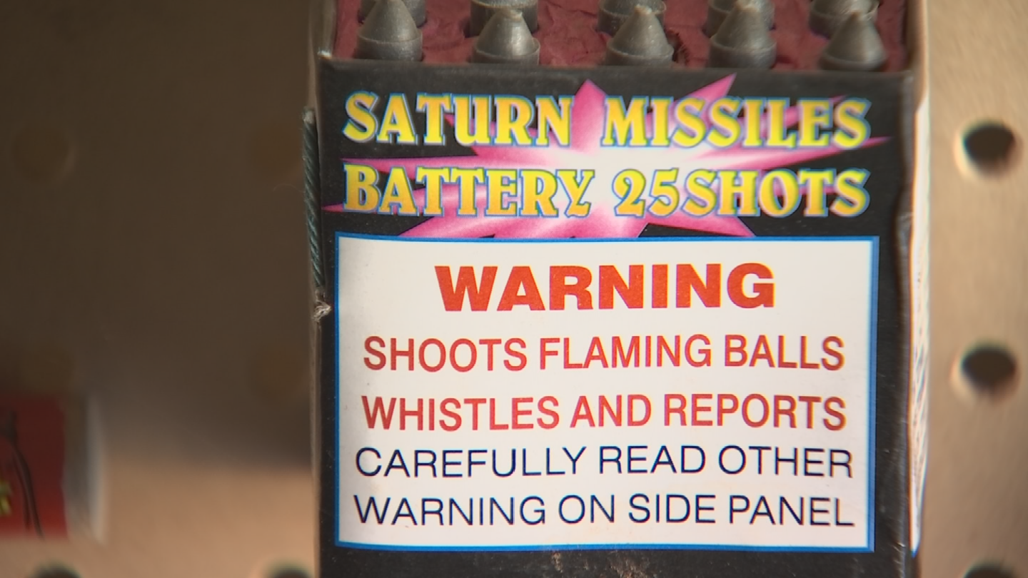 If you're planning to skip the tents because you have some leftovers laying around, you may want to think twice before you set them off. (Source: 3TV/CBS 5)