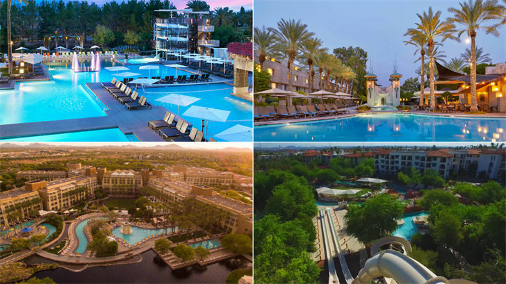 There are dozens of hotel pools in the Valley pools but these top pools are a notch above the rest. (Source: 3TV/CBS 5)