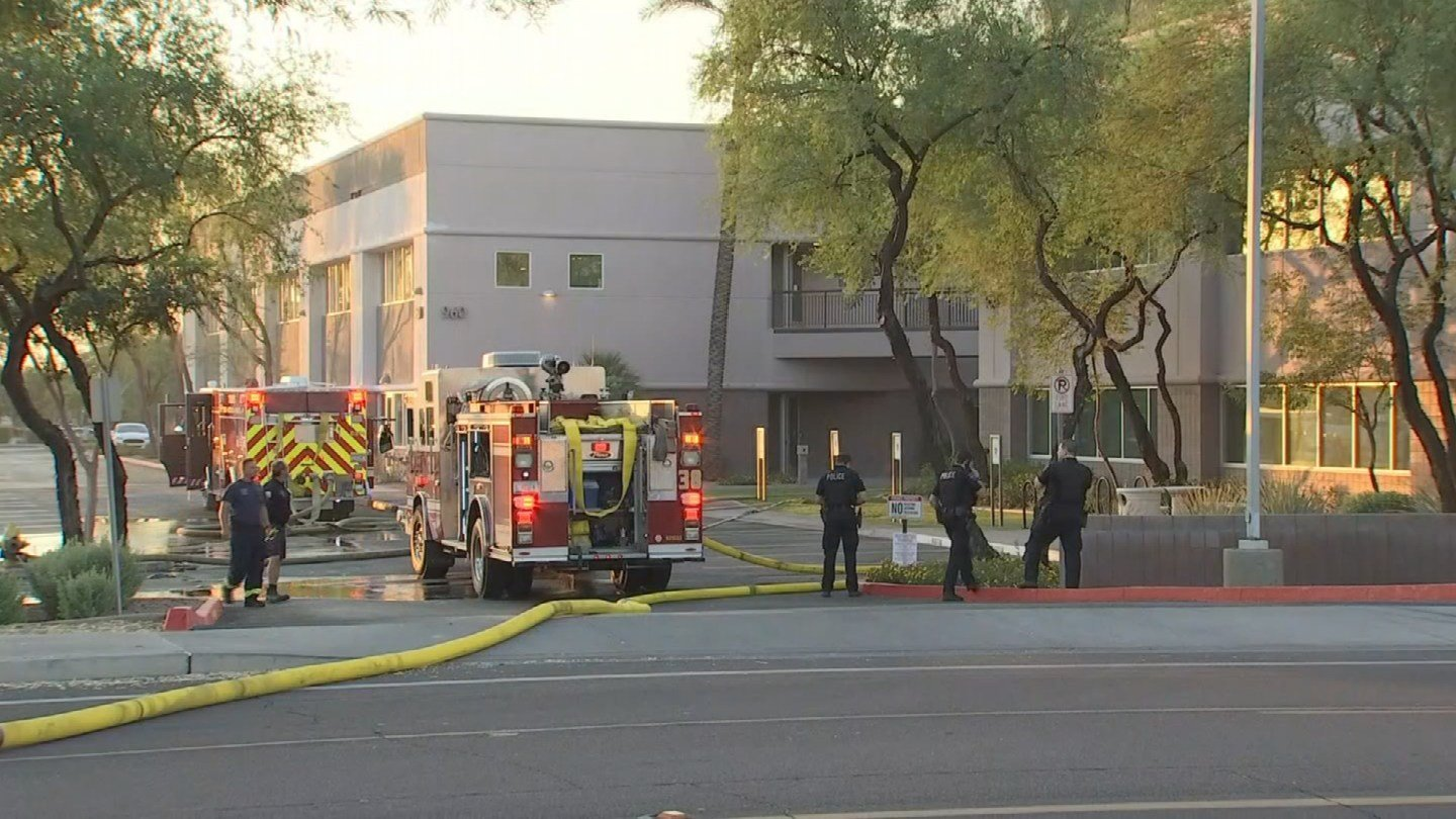 Several fire crews responded to a first-alarm fire in Tempe. (Source: 3TV/CBS 5)