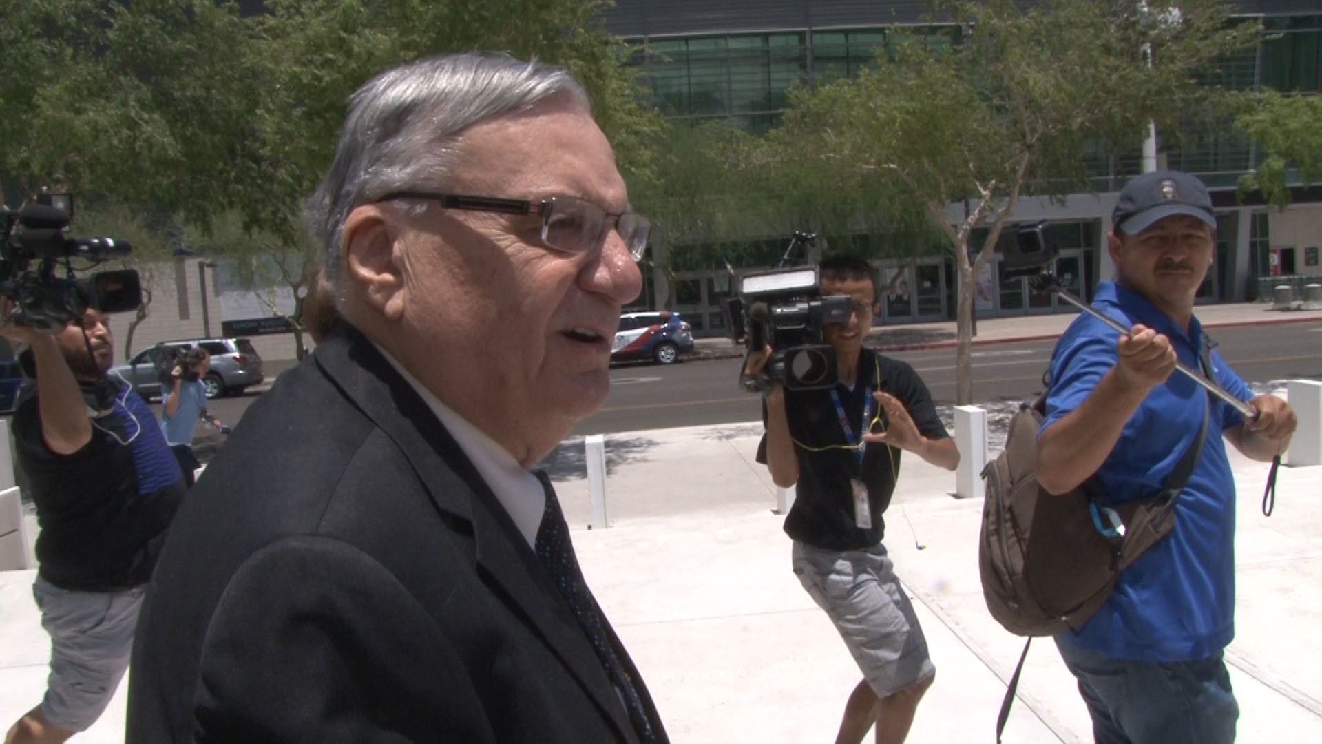 Former Maricopa County Sheriff Joe Arpaio faces criminal contempt charges in federal court. (Source: Tyler Fingert/Cronkite News)