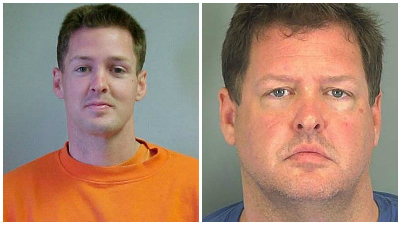 Todd Kohlhepp: Then and now (Sources: Arizona Dept. of Corrections and Spartanburg Co. Sheriff's Office)