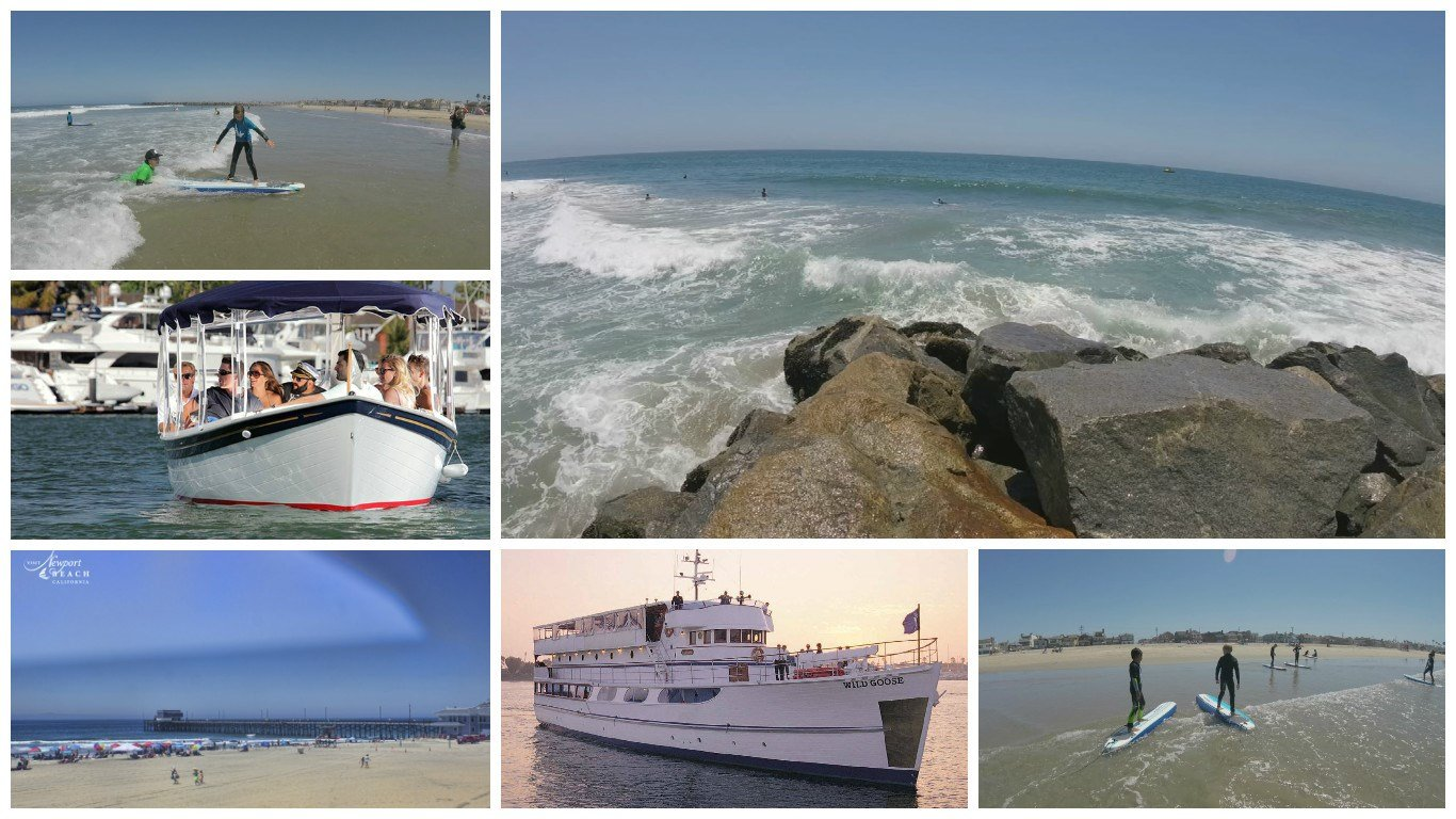 Newport Beach, CA is one of Scot Pasmore's favorite places to escape the summer heat. (Source: 3TV/CBS 5)