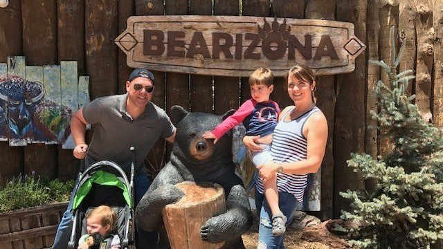 Paul Horton took his family to Bearizona last week. (Source: Paul Horton)